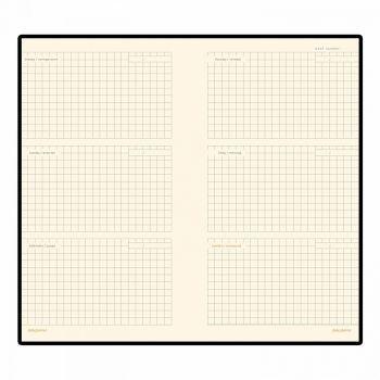 Внутренний блок недатированного еженедельника А6 (94х169 мм)