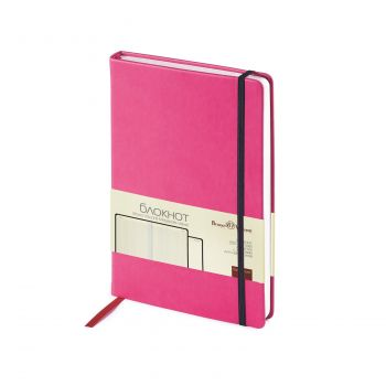 Блокнот «Megapolis Velvet», розовый