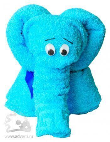 Полотенца-фигурки «Милые звери», слон