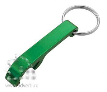Брелок-открывалка «Лапка», зеленый