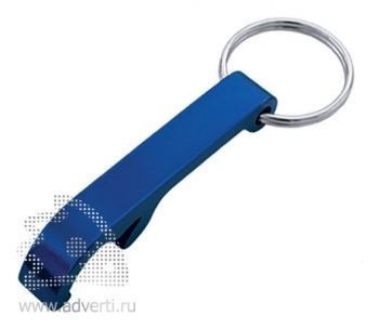 Брелок-открывалка «Лапка», синий