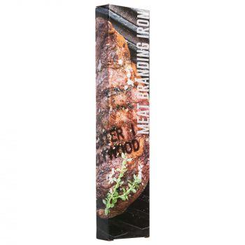Клеймо для стейка «Drakar», пример готового продукта