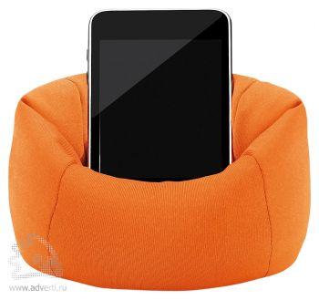 Подставка для телефона «Puffy», оранжевая