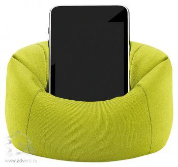 Подставка для телефона «Puffy», светло-зеленая