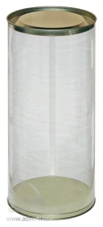 Пластиковая прозрачная упаковка под фигурку-полотенце