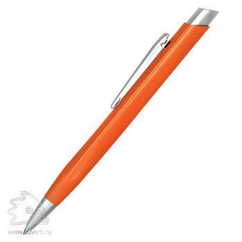 Ручка шариковая  PR-077, оранжевая