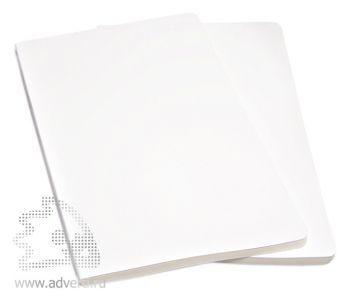 Набор записных книжек «Volant», белый, 2 штуки
