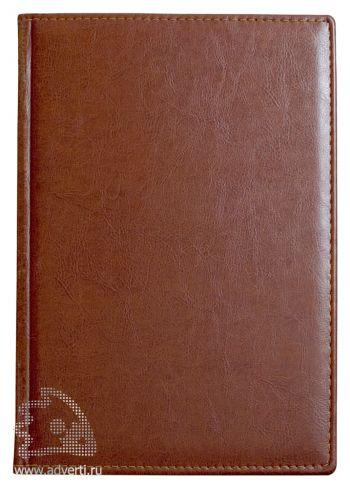 Ежедневники и еженедельник «Небраска», коричневые