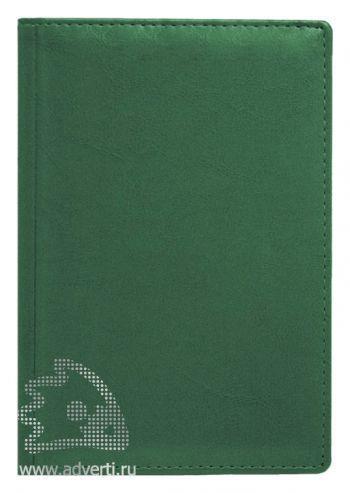 Ежедневники и еженедельник «Небраска», зеленые