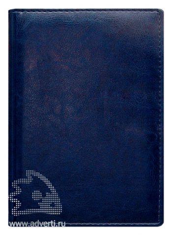 Ежедневники и еженедельник «Небраска», темно-синие