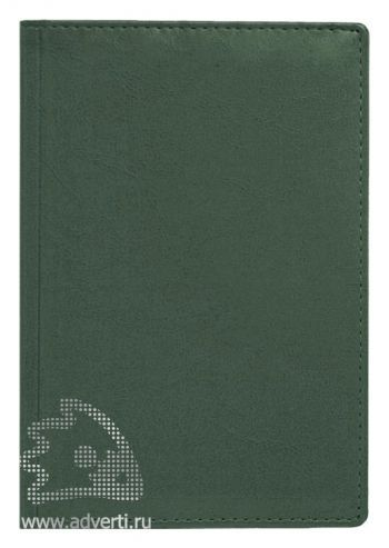 Ежедневники и еженедельник «Небраска», темно-зеленые