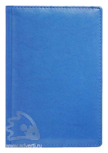 Ежедневники и еженедельник «Небраска», светло-синие
