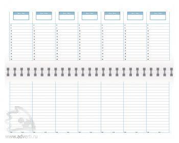 Внутренний блок недатированных планингов (198х140 мм)