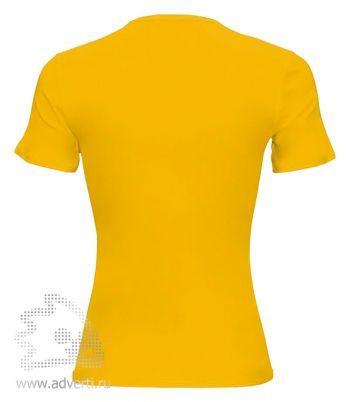 Футболка «Novic lady», женская, Россия, вид спины