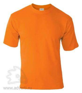 Футболка «Novic», унисекс, оранжевая