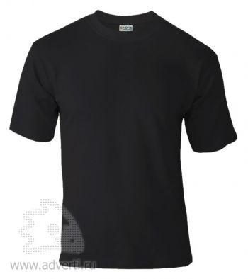 Футболка «Novic», унисекс, черный