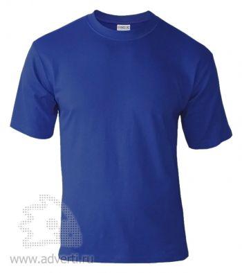 Футболка «Novic», унисекс, синяя