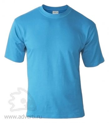 Футболка «Novic», унисекс, голубая