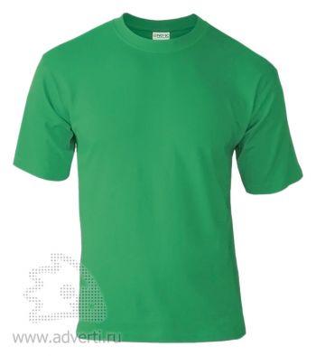 Футболка «Novic», унисекс, зеленая