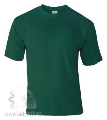 Футболка «Novic», унисекс, темно-зеленая