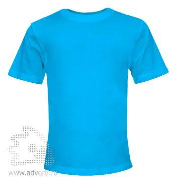 Футболка «Novic Junior», детская, голубая
