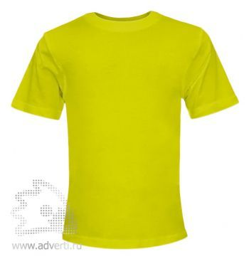 Футболка «Novic Junior», детская, ярко-желтая