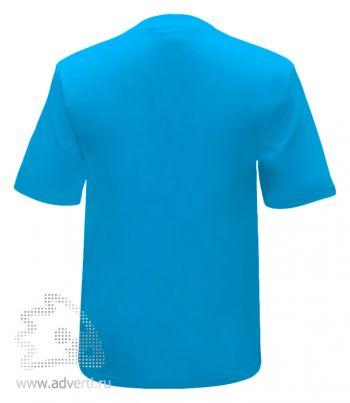 Футболка «Novic Junior», детская, голубая, оборот