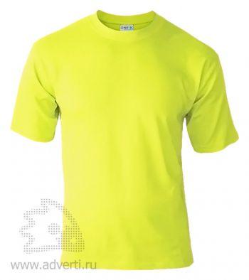 Футболка «Novic», унисекс, ярко-желтая
