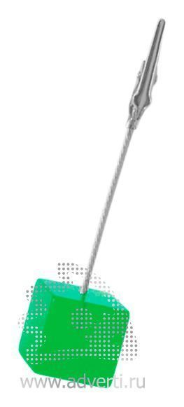 Держатель для записок PR-010, зеленый