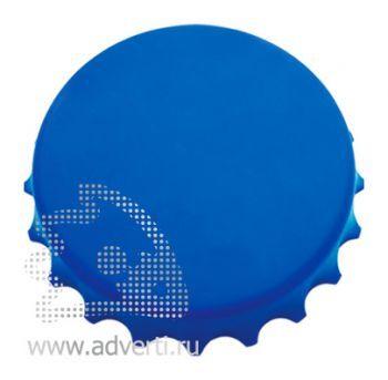 Открывалка «Пробка» на магнитах, синяя