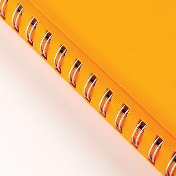 Ежедневники «Orbit», оранжевые, пружина