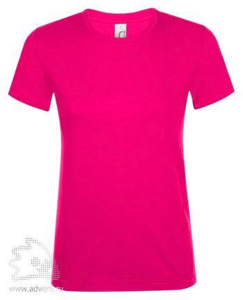 Футболка женская «Regent women», женская, ярко-розовая