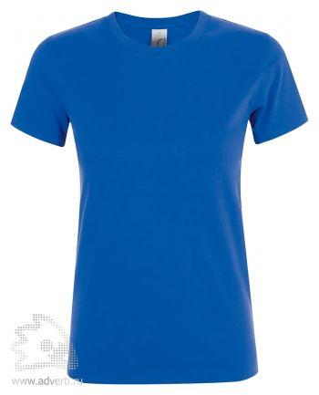 Футболка женская «Regent women», женская, ярко-синяя