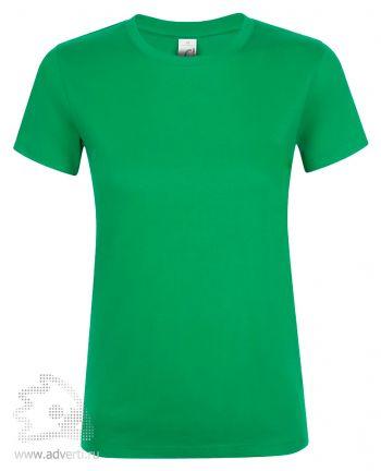 Футболка женская «Regent women», женская, ярко-зеленая