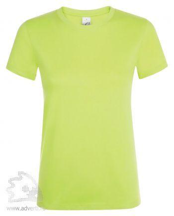 Футболка женская «Regent women», женская, светло-зеленая
