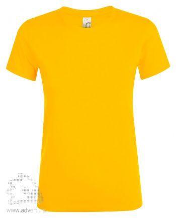 Футболка женская «Regent women», женская, желтая