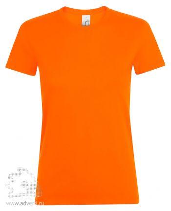 Футболка женская «Regent women», женская, оранжевая