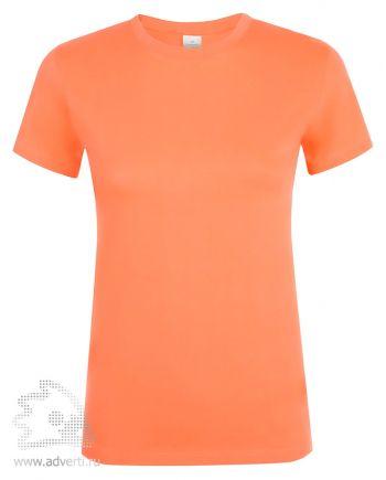 Футболка женская «Regent women», женская, абрикос (оранжевая)