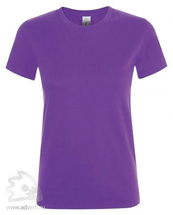 Футболка женская «Regent women», темно-фиолетовая