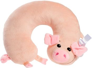 Подушка под шею «Свинка Lucky»