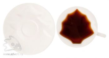 Набор «Елочка» для чая или кофе, вид сверху