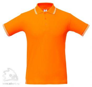 Рубашка поло «Virma Stripes», оранжевое