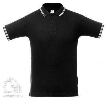 Рубашка поло «Virma Stripes», черное