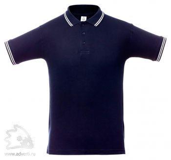 Рубашка поло «Virma Stripes», темно-синее