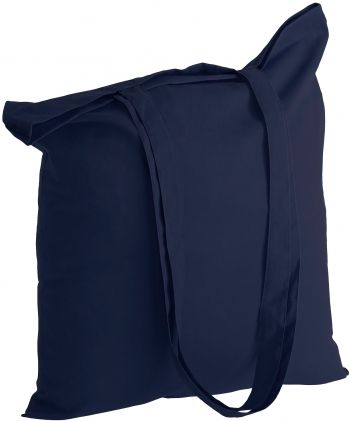 Холщовая сумка «Basic 105», тёмно-синяя