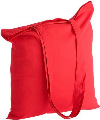 Холщовая сумка «Basic 105», красная