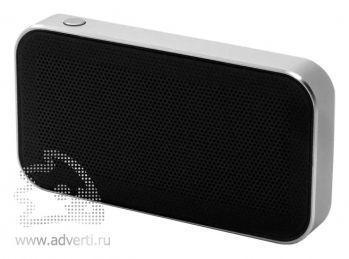Беспроводная Bluetooth колонка «microSpeaker», серебристая