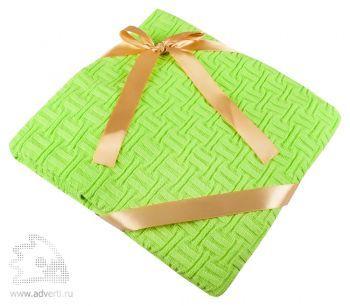 Дорожный плед «Basket», светло-зеленый