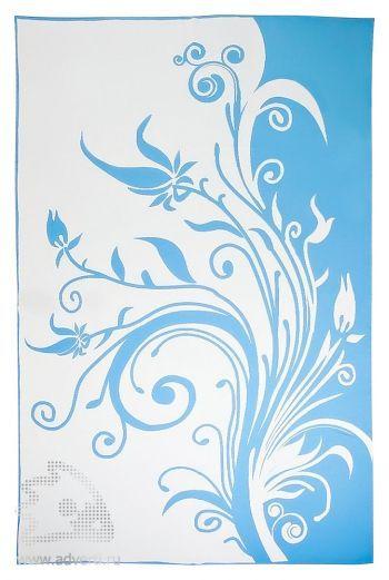 Плед «Spring», голубой