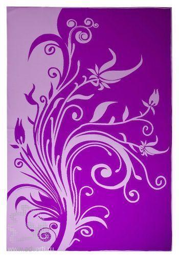 Плед «Spring», фиолетовый, сторона 2